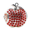 Jewellry Apple USB Flash Drive Memory Stick Crystal Pendrive 16GB