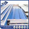 Wall Roof Aluminium Steel EPS/PU/Fiberglass/Rockwool Sandwich Panel