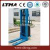 Capacity 1000kg-2000kg Half-Electric Power Pallet Stacker