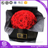 Luxury Handmade Glossy Paper Packaging Square Flower Box