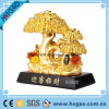 Polyresin Jade Plant for New Year Gift (HG081)