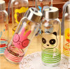 High Clear Round Glass Bottle Glass Cup Readily Cup