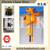 Top Quality Elk 3ton Electric Chain Hoist with Hook CE Approval