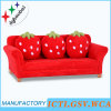 Three Seat Strawberry Fabric Sofa/ Home Sofa (SXBB-281-4)
