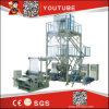 High Speed ABA 3 2 Layer Mini HDPE LDPE PE Blown Agriculture Polyethylene Plastic Bag Film Extruder