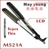 M521A Mch Heater and Big LCD display Hair Flat Iron