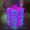 LED Gift Box Motif Light for Holiday Decoration