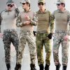 Multicam Camouflage Military Uniform for Tactical Military Clothing