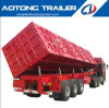 3 Axle 60ton Side Dump Semi Trailer/Tipper Semi Trailer/Dump Trailer Manufacturer