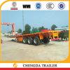 Flat Deck 3 Axle 60 Ton Flatbed Container Semi Trailer
