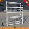 Adjustable Steel Racking, 5 Tiers Heavy Duty Shelf