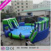 Inflatable Moving Water Park with Water Pool