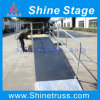 Aluminum Mobile Stage with Ramp, Performance Event Stage with Wheel Chair Ramp