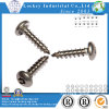 Stainless Steel Round Head Six-Lobe with Tamper Self Tapping Screw