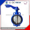 Industrial Cast Iron Wafer Type Butterfly Valve Without Pin