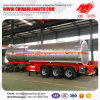 30000 Liters Hydrochloric Acid Liquid Storage Tank Semi Trailer