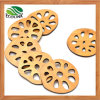 Lotus Root Shape Bamboo Drink Coaster / Cup Coaster