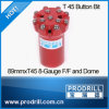 T45-89mm Button Bit