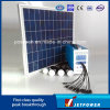 50W DC Solar System for Home Lighting and Mobile Charging