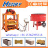 Qtj4-40 Concrete Mold Small Cement Hollow Block Making Machine