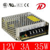 35W 12V Power Supply Switching con 2 Years Warranty (S-35W)