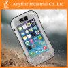 Silver Waterproof Shockproof Aluminum Gorilla Metal Cover for iPhone 5s Love Mei