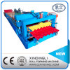 African Style Beautiful Glazed Tile Roofing Sheet Roll Forming Machine