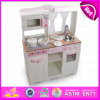 Hot New Product for 2015 Happy Kitchen Set Toy, Big Mother Garden Kitchen Toy Set, Pretend Wooden Kitchen Toy with Music W10c058A