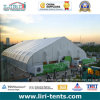 50m Width Giant Outdoor Clear Span Aluminum Frame Waterproof TFS Curve Tent for Exhibition