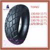 13/60-13tl, 120/60-13tl 130/70-12tl 120/70-12tl Tubeless 6pr Nylon Motorcycle Tyre