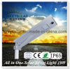 2017 Best Price All in One Integrated LED Solar Street Light 18W