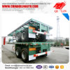 20FT Truck Skeleton Container Semi Trailer