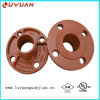 Ductile Iron Construction, Grooved Flange Adapter Nipple 2′′