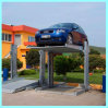 2014 New Design Double Levels Two Post Shared Car Parking Equipment