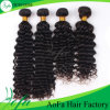 100% Peruvian Human Remy Hair Weft for Deep Wave