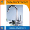 Single Handle Brass Kitchen Faucet (CB-21235)