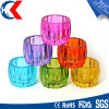 Colorful Chinese Style Cylinder Shape Tealight Glass Candle Holder (CKGCR130918)