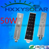 Waterproof IP65 Integrated LED Solar Street Lighting 50W