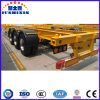 3 Axle Skeleton Heavy Duty Cargo Transportation Semi Trailer