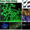 Hot! 200 LED RGB Halloween String Lights, 60 FT Solar Copper String Lights for Home, Patio, Lawn, Garden, Porch, Party, Holiday Decorations