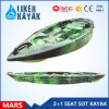LLDPE Tandem Kayak Boat for Family