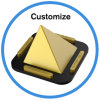 Mutifunction Mobile Phones Tablet PC Pyramid Candle Holder