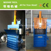 Vertical plastic PET bottle baler machine