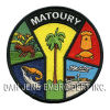 100% Embroidered Patch of Matoury
