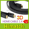 Flat HDMI Cable 1.4V 1080P 3D for HDTV Computer & Tablets Cable