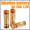 New Alkaline Battery AA Lr6 for Home Use