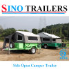 Side Open Heavy Duty Soft Floor Folding Camper Trailer