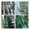 Polished Hole and Round Toughened Glass Table