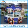 Outdoor Promotional Activities Steel Dome Kiosk Advertising Booth