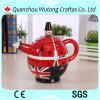 Custom Crafts London Solider Disign Souvenir Gifts Resin Teapot Decoration